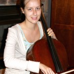 "Anna Sanders (Johnson City, TN) stopped in this past week to have a new bridge cut for her cello and sound post adjustments made. She was passing through and on her way home from the West Branch Music Festival directed by Odin Rathnam. ""I'm at another festival now and it sounds the best I've ever heard it sound! Thank you so much""!"