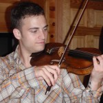 Ben Detrick (Seven Valleys, Pa) Stopped by my cabin shop for some much needed tonal adjustments to his violin. Ben was attending the West Branch Int. Music Festival.