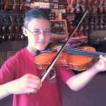Derek Donaldson (age 12), Millerstown, PA along with his teacher Elizabeth Appleby picked out his first Hershey Violin outfit. One very happy camper! Thank you Derek and Elizabeth for choosing Hershey Violins.