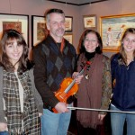 The Dootz Family (Feura Bush, NY). L-R Nicole, Tom, Michele & Stephanie. Nicole was visiting Messiah College for potential schooling. Loved the violin shop and our area.