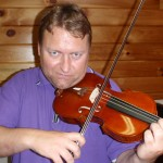 Lars Bjornkjaer (Denmark). Lars is the concertmaster for the Royal Danish Symphony and was one of the faculty during the WBIMF camp. Lars chose to use my #55 violin while I was working on his 1714 Strad during this event. He loved the tone of this instrument.