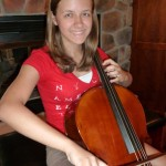 Leah Hagenbuch (Mechanicsburg, PA) Enjoying her recently purchased cello from Hershey Violins. Leah is attending Mechanicsburg High School, she will be playing in the school orchestra. She is a sophomore and has been playing the cello for 6 years. Thank you Leah and family for visiting and purchasing your cello from our shop.