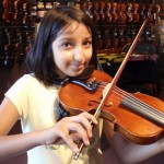 Maira Nawaz (Mechanicsburg, PA). Maira grew a bunch this last year and was pressed into upsizing to a 3/4 sized violin. She is in the sixth grade in the Cumerland Valley School Distric.
