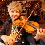 Mary Ann Guerrisi (Dauphin, PA). A player for over 50 years and a teacher, visits our shop frequently for service and repairs. Mary Ann teaches violin and viola, ages 5 and up and can be reached for lessons @ 717.921.8330.