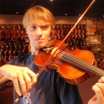 Zach Baldwin-Way (Carlisle, PA). Zach, a talented violinist and mandolin player is in his freshman year at the Berklee College of Music and recently visited our shop for instrument service, prior to returning to college.