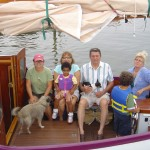 Lucy holds a bunch of people. Daughter Heather, Maya, Toni, John, Lane and Cole. And throw in a few dogs!