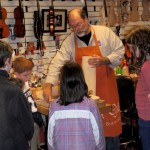 The evening concluded with Scott Hershey demonstrating the basics of violin making this group. A fun night for all.