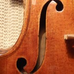 The ff's were carved with great care and the notches were cut very slightly. The stop length is set at 197mm.
