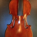 This is a 1714 Strad pattern, well executed.